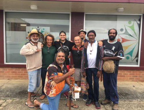 Indigenous Mens Yarn Up Group Circle