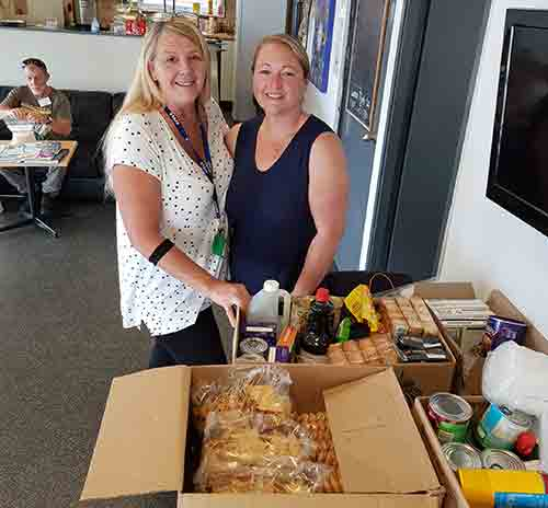 Mim from Mims Kitchen Byron Bay donor to the Mullumbimby and District Neighbourhood Centre Mullumbimby